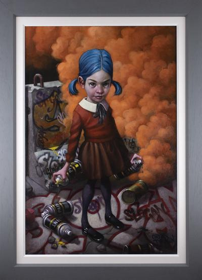 Where do you draw the line?- Deluxe Canvas by Craig Davison
