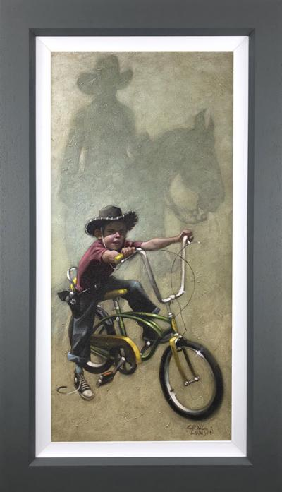 Move 'em on, head 'em up.. Rawhide- Canvas Deluxe