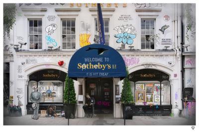 Sothebys- Black Frame