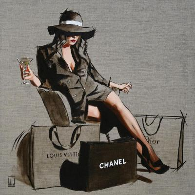 Handbags and Gladrags- Sketch