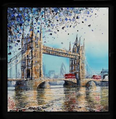 Blue Haze Over The Tower Bridge