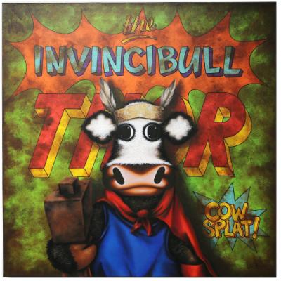 The Invincibull Thor- Box Canvas