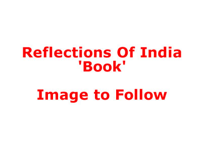 Reflections Of India Book (Deluxe) by Michael Jackson