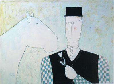 Horse & Flower