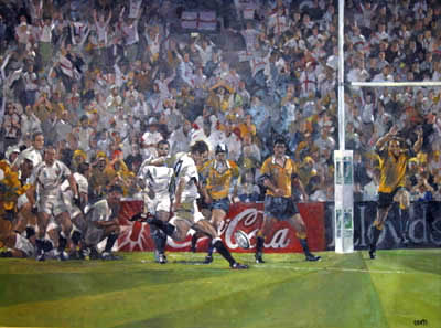 Deliverance - Rugby (Signed by Jonny Wilksinson)