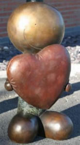 Looking After Love - Sculpture