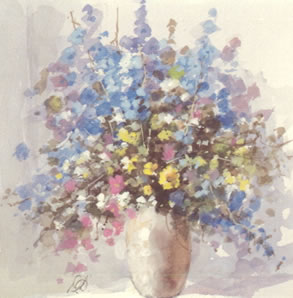 Mixed Bouquet II by Derek Brown