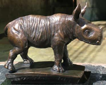 Wobbly - Rhino - Pure Bronze