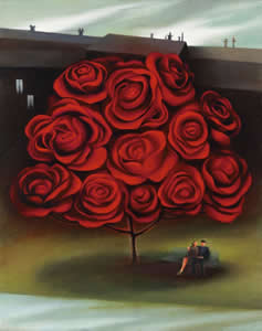 Tree Of Love by Berit Kruger Johnsen