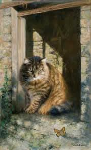 Whisky The Farmyard Cat