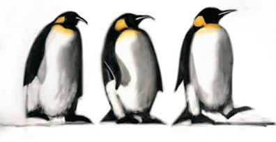 We Three Kings - Penguins