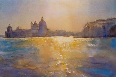 Venice Sunlight On Water
