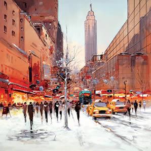 Manhattan Morning (canvas)