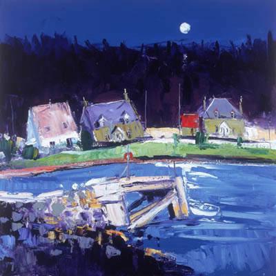 Moon Over Kentallen