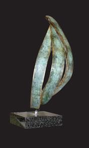 Dancing Sails - Bronze Sculpture
