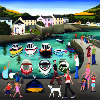 Quayside Capers by Louise Braithwaite
