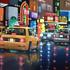 New York Neon Nights by Neil Dawson