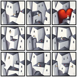 Love Will Always Find You (9 Box Canvases)