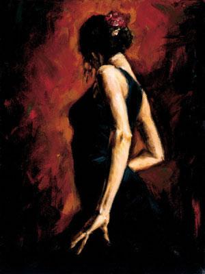 Flamenco Dancer II
