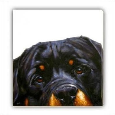 Rottie (Canvas) - Rottweiler