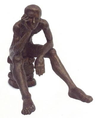 Wondering - Sculpture