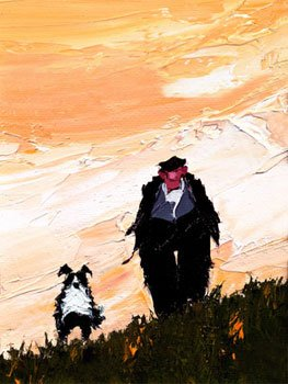 One Man And His Dog by Austin Moseley